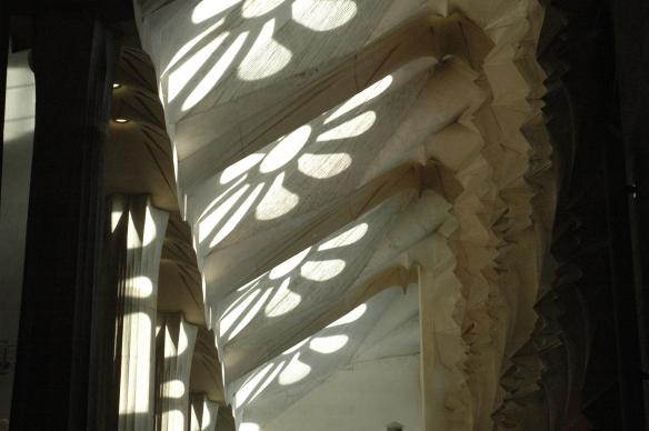 Shades in the Sagrada Familia