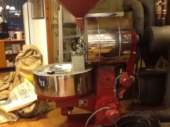 The roaster at El Magnifico