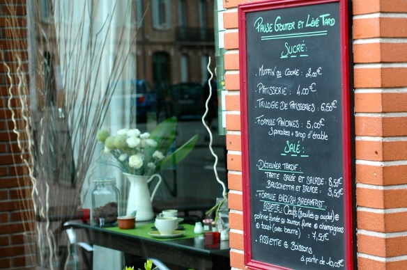 Cafe in Toulouse