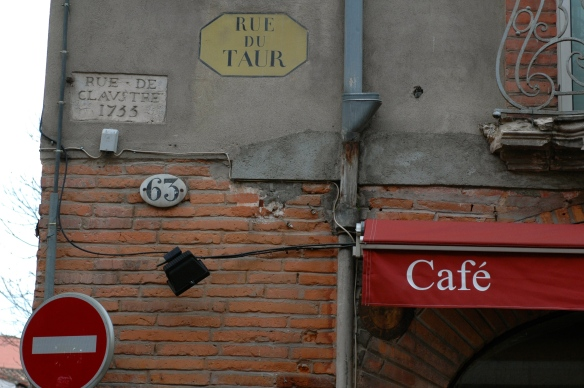 Street name in Toulouse
