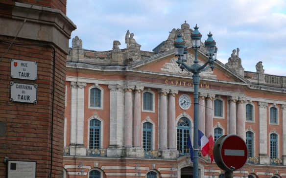 Street signs in Toulouse