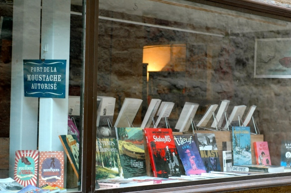 Bookstore in Carcassonne