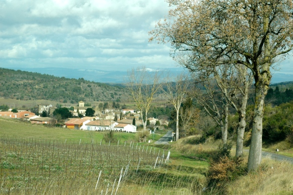 Roads in Corbières