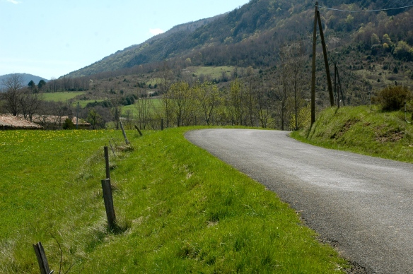 Roads around Couiza