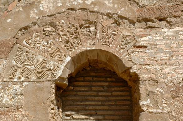Monzón castle detail