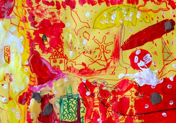 Lorena's painting