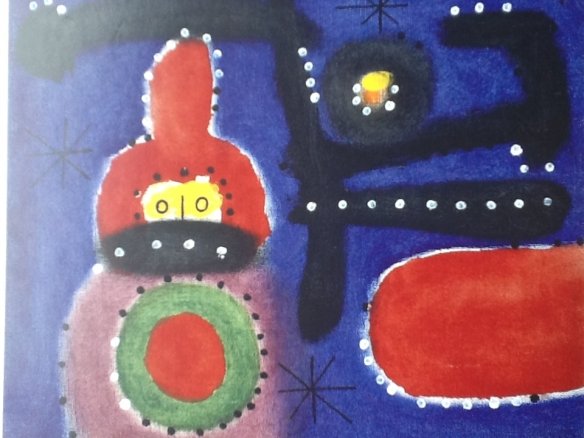 Miro's painting